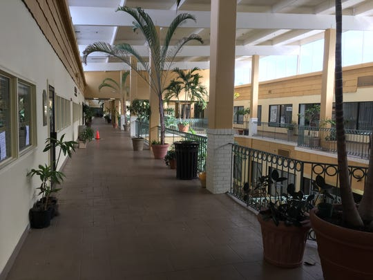 The Atrium in south Fort Myers has been in deteriorating condition, with the property manager and the potential future owner contending Hurricane Irma has made matters worse.