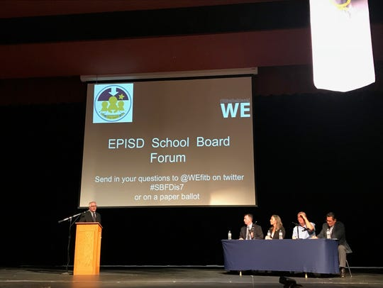 Michael Hicks, a candidate for the EPISD District 7