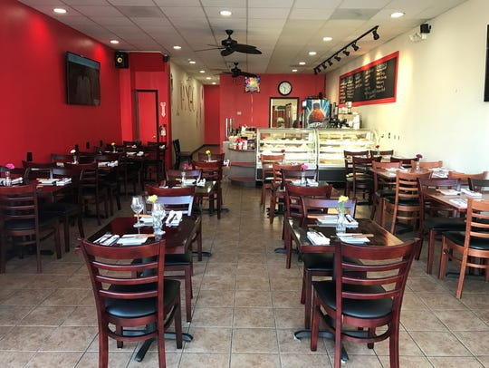The dining room of the new El Tango Argentine in Hackensack