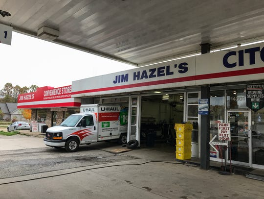 Jim Hazel's Citgo & U-Haul first opened in 1951 at