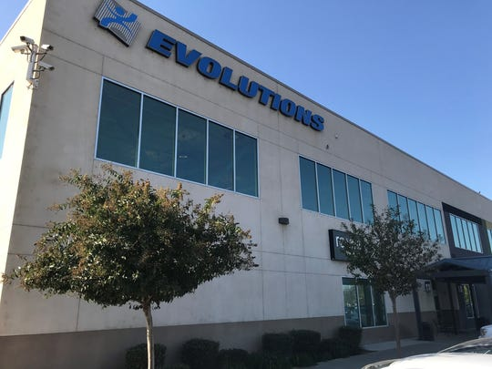 Evolutions Fitness and Wellness Center in Tulare.