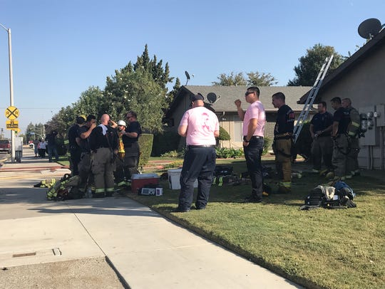 Tulare Fire Department and Tulare County Fire Department