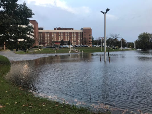 Saint Clare's flooding