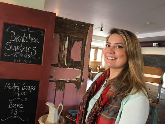 Sweet P's Antiques and Artisan Market owner Julia Price. The shop is set to reopen in Novembers.