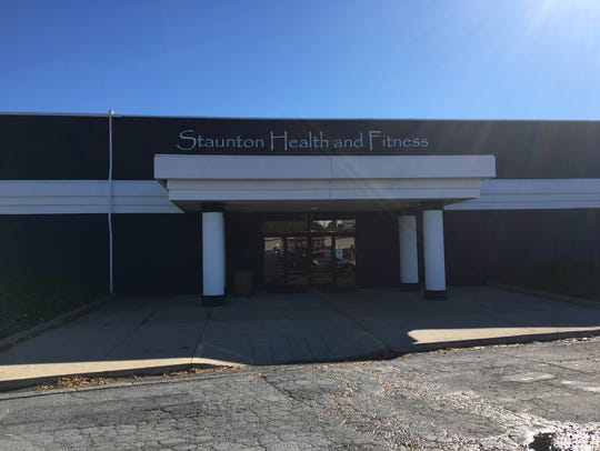 Staunton Health and Fitness, which is currently located