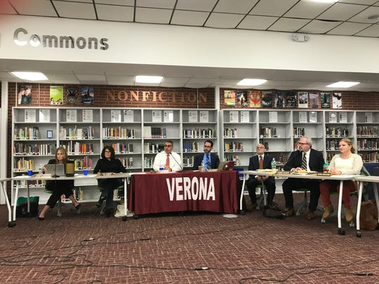 The Verona Board of Education hears from supporters