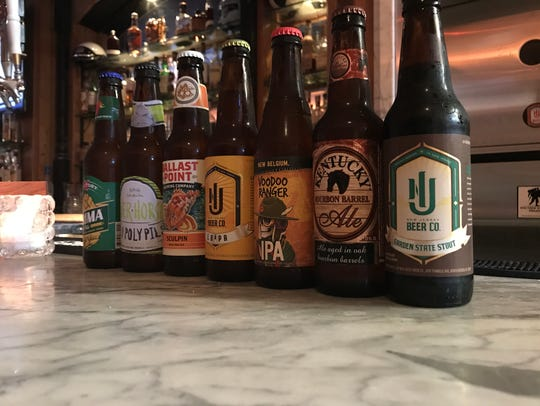 A selection of craft beer at Egan & Sons in Montclair.