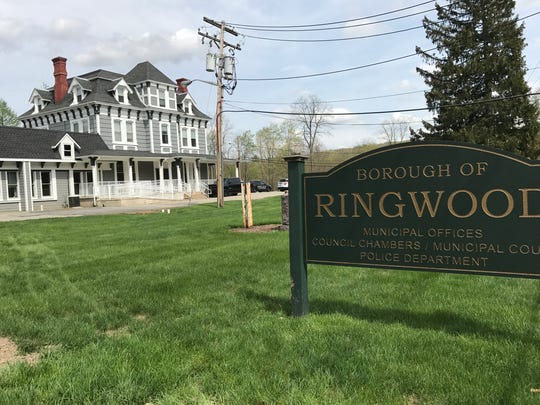 Ringwood borough hall, as seen on April 29, 2017, sits