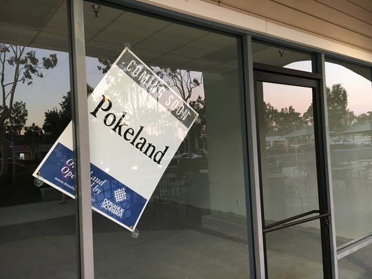 Poke Land is slated to join the mix of restaurants at the Ralphs/CVS shopping center across from Naval Base Ventura County in Port Hueneme.