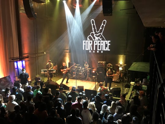 Guam natives For Peace Band rock the stage, playing