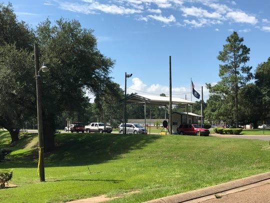 Central Louisiana State Hospital entrance today.