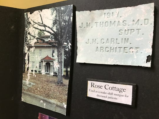 Rose Cottage, the oldest building left at Central State, was once used as a morgue.