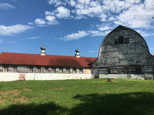 The Central Louisiana State Hospital Dairy Barn today.