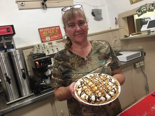 Cheryl Vetter, owner of the new restaurant Vetter's