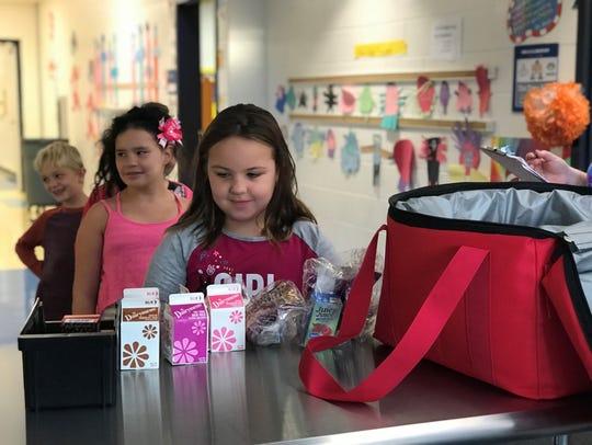 Amelia Elementary School students enjoy a less chaotic