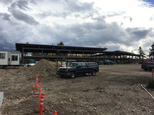 Construction at 230 Geer Drive NE in Salem, Oregon,
