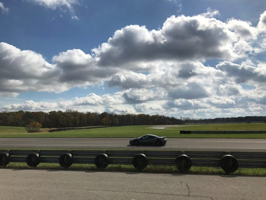 Customers can test drive the Acura NSX on a track at