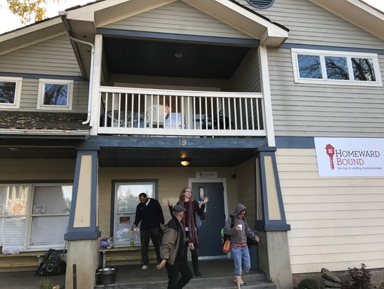 Homeward Bound has focused its efforts on housing homeless