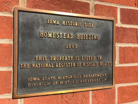 The historic Homestead Building was the first building
