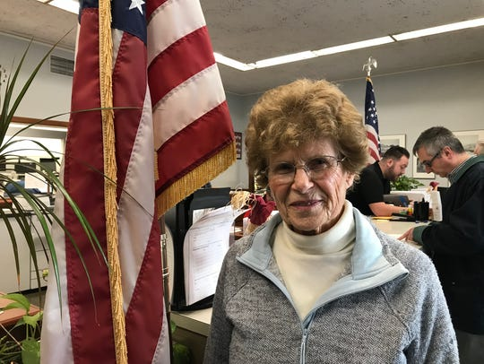 Joanne Clarke is a resident of Rhinebeck and says she votes during every election.