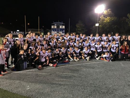 Southridge defeated Mater Dei 38-31 in overtime last Friday at the Reitz Bowl to win a Sectional 40 championship.