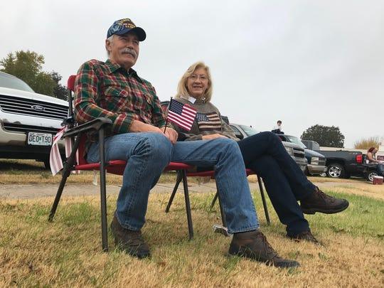 Vietnam Navy veteran Stan Budzyna and Judy Matthews