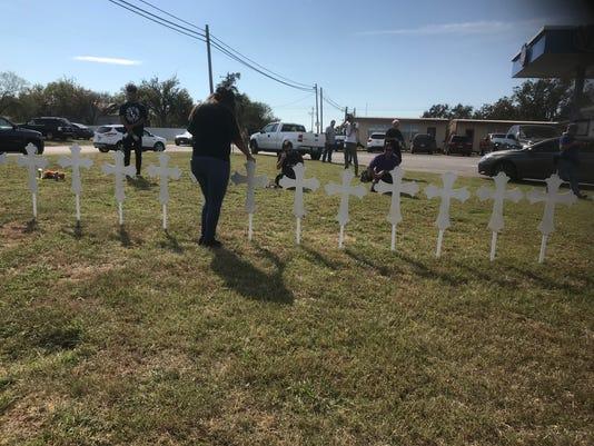 Texas shooting memorial