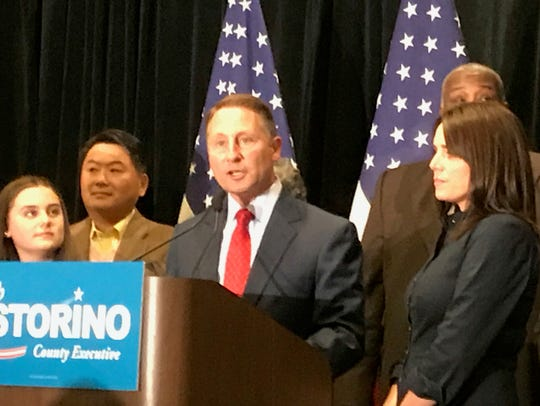 Rob Astorino conceded the election, declaring George
