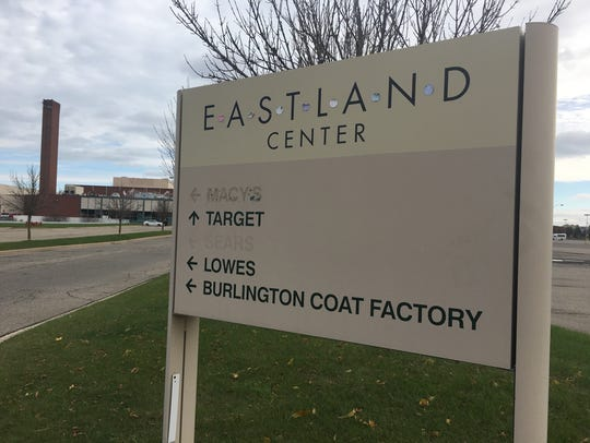 Many of the old stores at Eastland Center have closed.