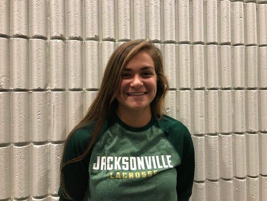 Caroline Peterson, Jacksonville University (lacrosse)