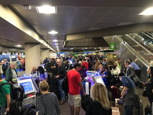 Sky Harbor Terminal 4 closure