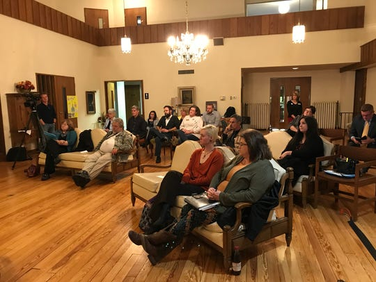 About 20 people attended the Community Conversation