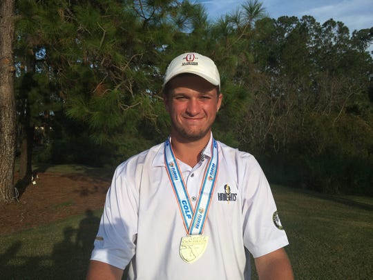 The Pine School's Garrett Barber shot a nearly-flawless,