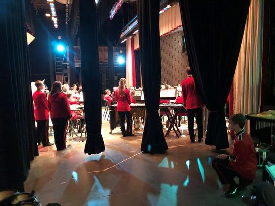 Students perform for veterans at Lakeland Regional High School in Wanaque on Nov. 8.