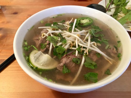 The pho dac biet from Two Sisters.