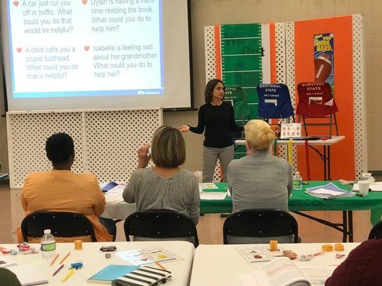 Elizabeth Montero-Cefalo, a Conscious Discipline instructor,