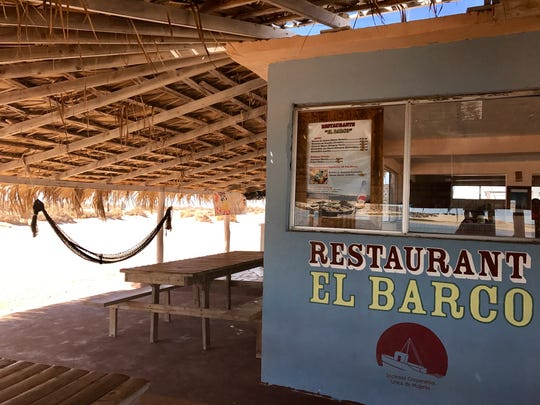 El Barco is located on the sand at the edge of the water, and serves up fresh-shucked, to-order oysters, seafood and ceviche.