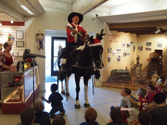 Cave Creek Museum kicks off the holiday season with a cowboy-style Christmas! Details: 1:30-3 p.m. Sunday, Dec. 3. Cave Creek Museum, 6140 E Skyline Drive, Cave Creek. Free for members, $5 for non-members at the door. 480-488-2764, register online at cavecreekmuseum.org.