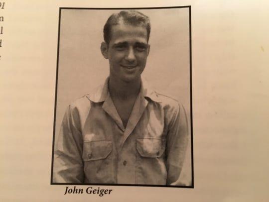 Jack Geiger during the war