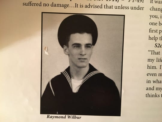 Ray Wilbur during the war