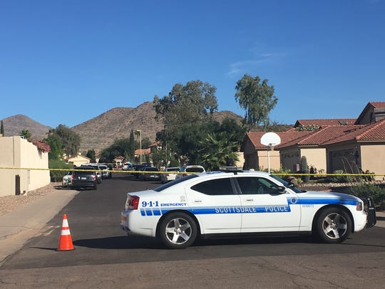 Scottsdale police are investigating a shooting involving