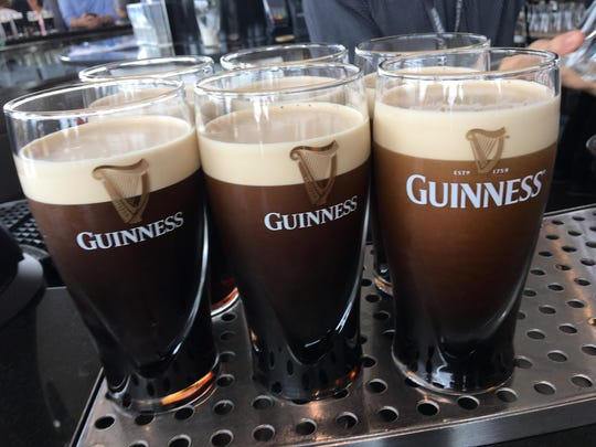 Glasses of Guinness