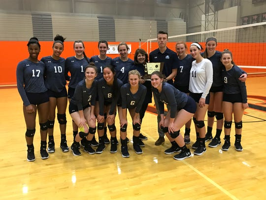 The Immaculate Heart girls volleyball team qualified for its 11th straight Tournament of Champions by winning the Non-Public state title on Saturday, Nov. 11, 2017 at William Paterson University.