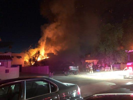 Phoenix house fire