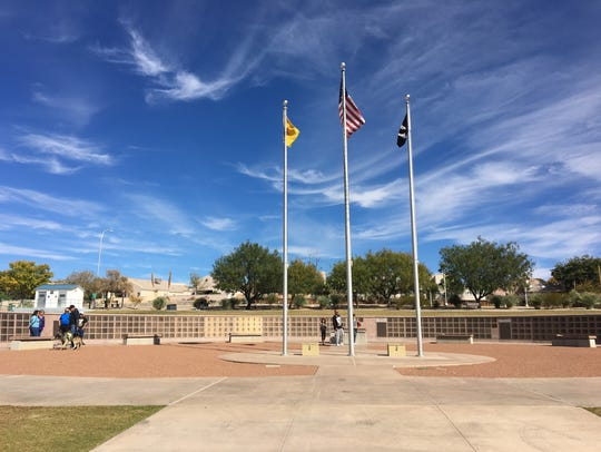Veterans Memorial Park on Veterans Day Nov. 11, 2017.