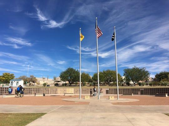 Veterans Memorial Park on Veterans Day Nov. 11, 2017.