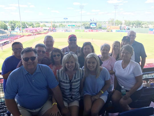 Extended family joined Rob and Beth Sexton in Lexington,