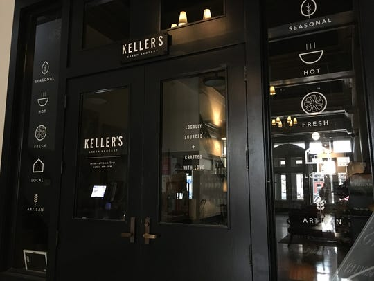 Keller's Green Grocery in downtown Sioux Falls stands