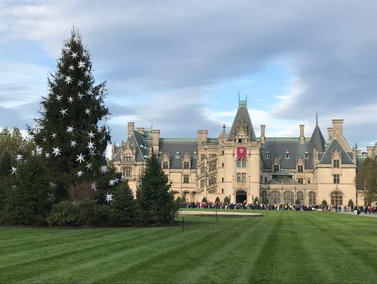Biltmore Estate, now celebrating Christmas at Biltmore,