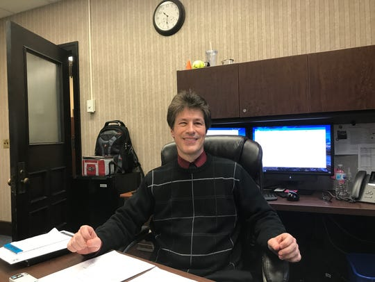 Battle Creek Assistant City Manager Ted Dearing traveled